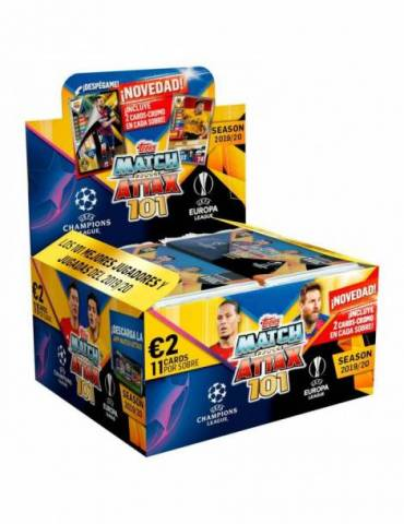 Champions Match Attax 101 - Sobre de 11 cartas