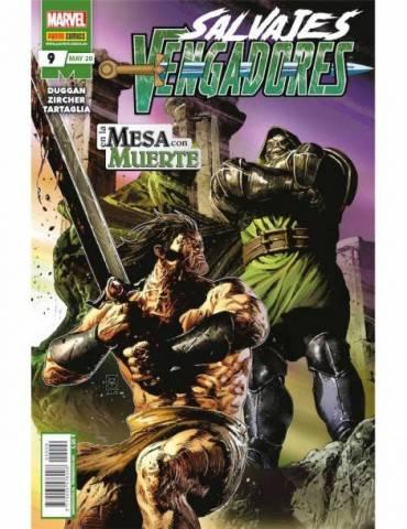 Salvajes Vengadores 09