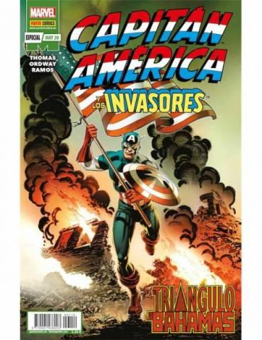 Marvel 80º Aniversario: Capitán América y Los Invasores