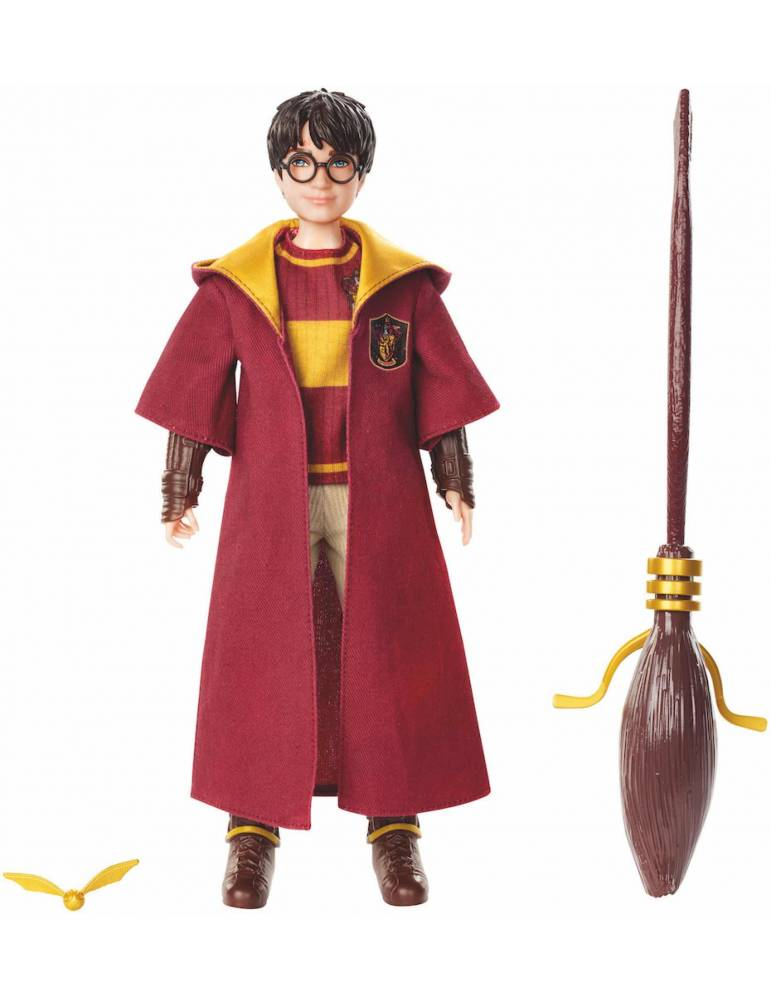 Muñeco articulado Harry Potter: Harry Potter Quidditch