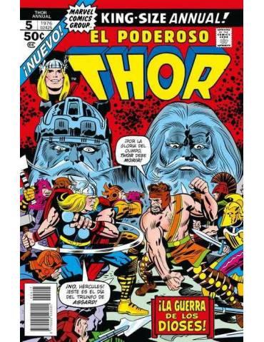 Marvel Facsímil 17. The Mighty Thor Anual 5