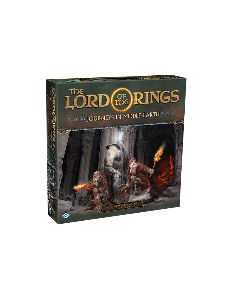 The Lord of the Rings: Journeys in Middle Earth - Shadowed Paths Expansion (Inglés)
