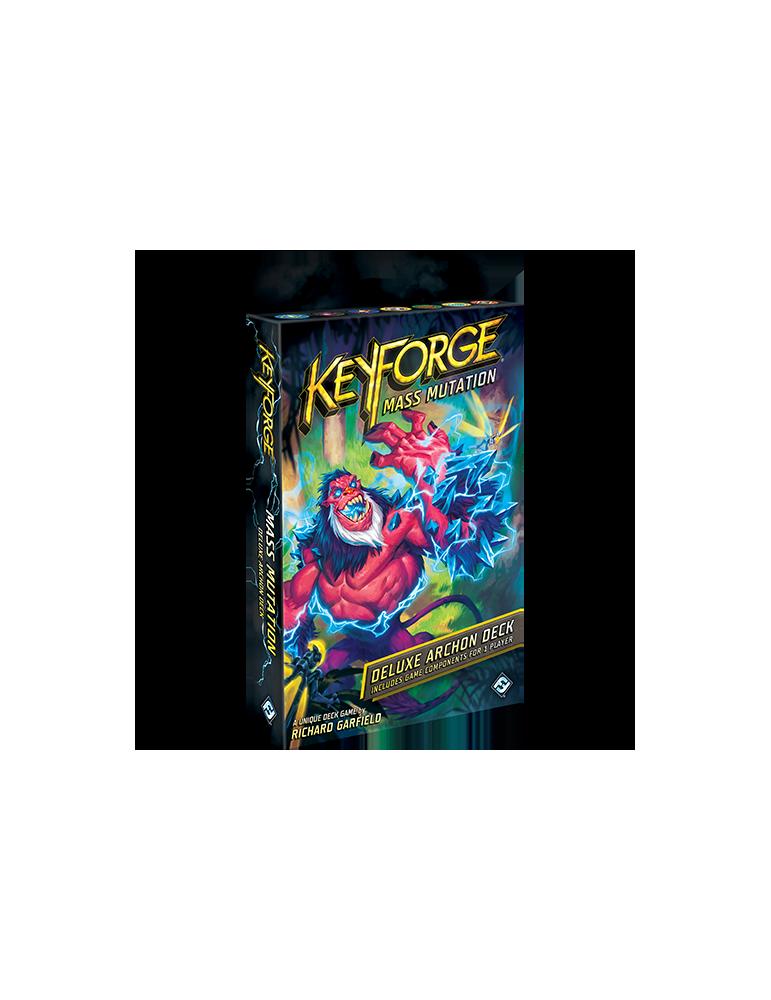 KeyForge: Mass Mutation Deluxe Deck (Inglés)