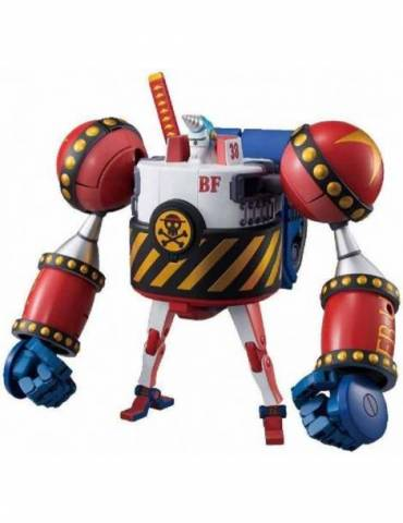 Maqueta One Piece Hi-End: General Franky Best Mecha Collection Model Kit 25 cm