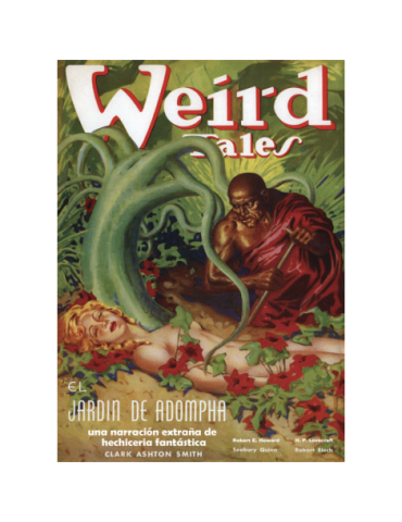 Weird Tales (selección 1938). Formato Facsimil.