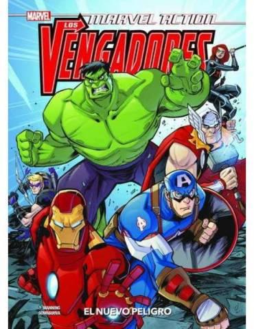 Marvel Action. Los Vengadores 01. El nuevo peligro.
