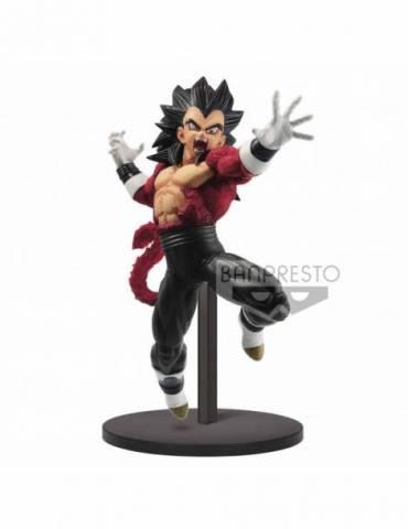 Figura Dragon Ball Super / Dragon Ball Heroes: Super Saiyan 4 Vegeta Xeno 17 cm