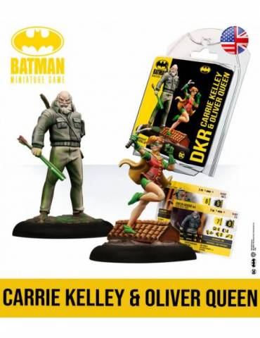Batman Miniature Game: Oliver Queen & Carrie Kelley (Inglés)