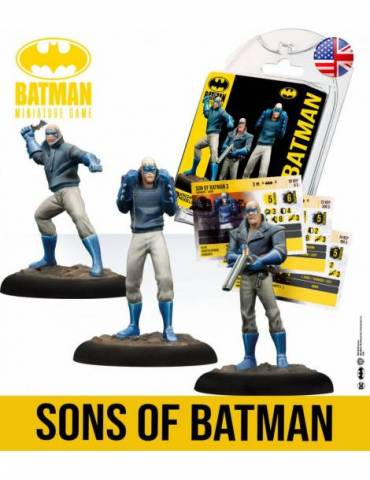 Batman Miniature Game: Sons Of Batman (Inglés)