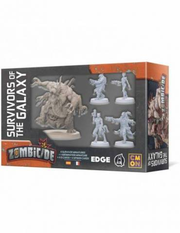 Zombicide: Invader - Survivors of the Galaxy (Castellano)