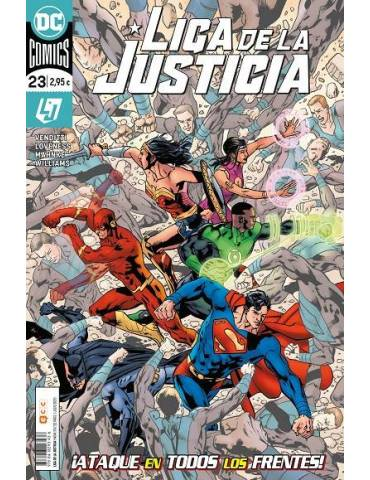 Liga de la Justicia núm. 101/ 23