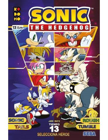 Sonic The Hedgehog núm. 13