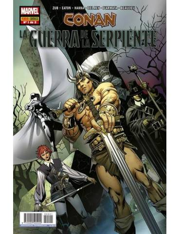 Conan. La Guerra de la Serpiente 01