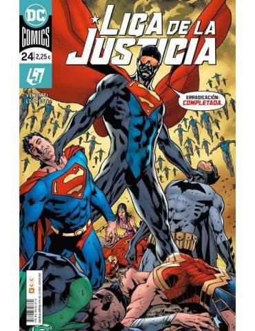 Liga de la Justicia núm. 102/ 24