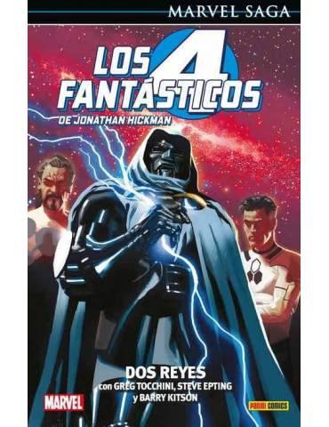 Los 4 FantÁsticos De Jonathan Hickman 05: Dos Reyes (Marvel Saga 102)