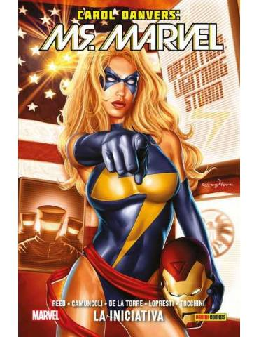 Carol Danvers: Ms. Marvel 02. La Iniciativa