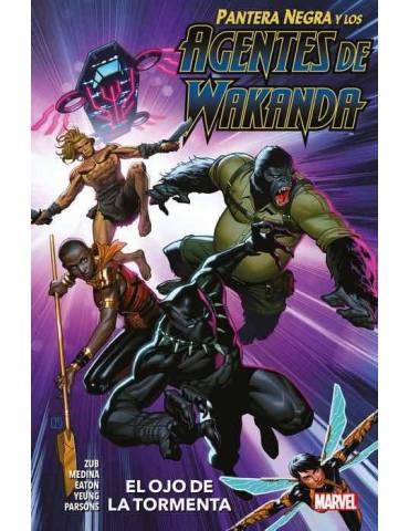 Pantera Negra y los Agentes de Wakanda 01: El Ojo de la Tormenta