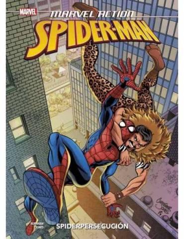 Marvel Action. Spiderman 02. Spidersecucion