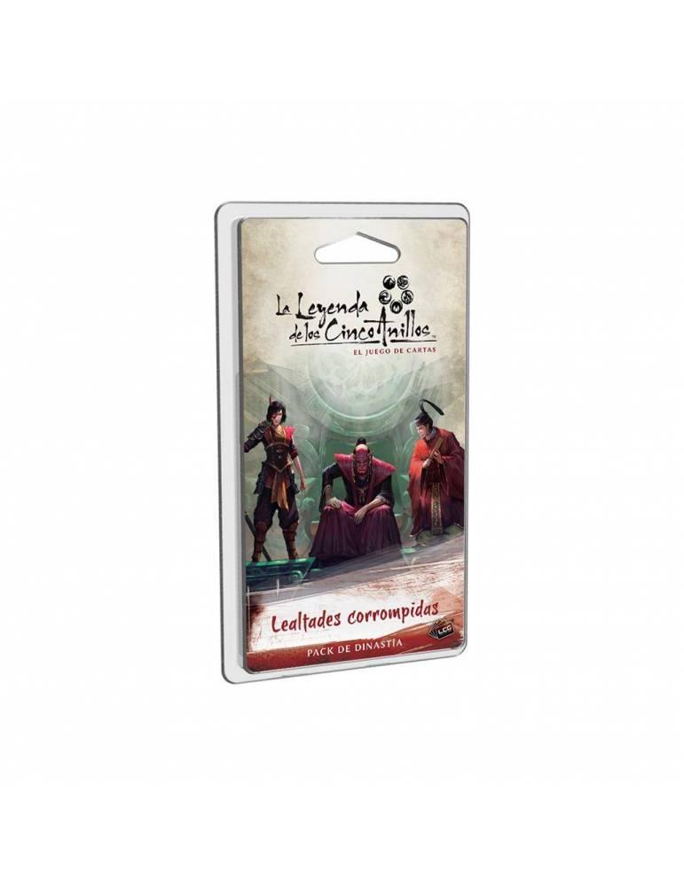 La Leyenda de los Cinco Anillos: el juego de cartas - Lealtades Corrompidas