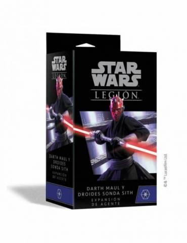 Star Wars: Legión - Darth Maul & Sith Probe Droids Expansión de Agente
