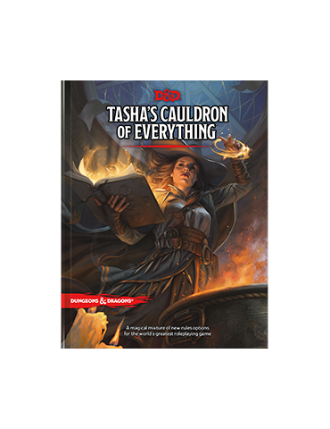Dungeons & Dragons: Tasha's Cauldron of Everything (Regular Cover) (Inglés)