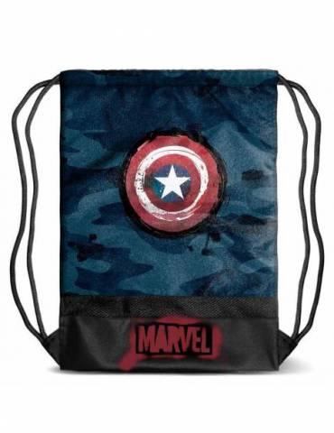 Bolsa Saco Marvel: Capitán...