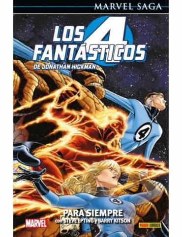 Los 4 Fantásticos de Jonathan Hickman 06: Para Siempre (Marvel Saga 104)