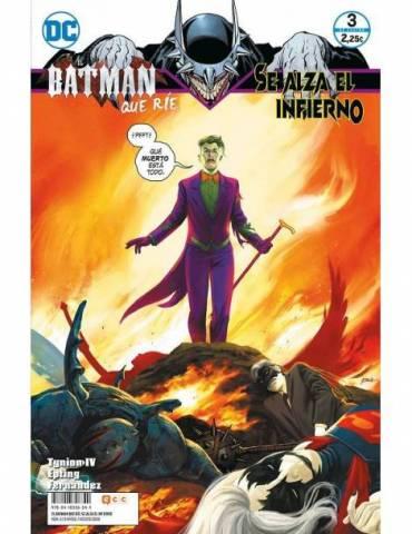 El Batman que ríe: Se alza el infierno núm. 03 de 4