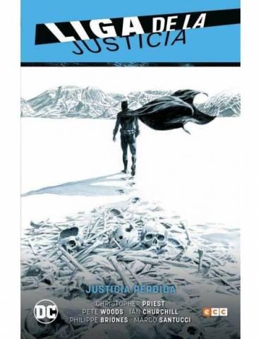 Liga de la Justicia vol. 05: Justicia perdida (LJ Saga - Renacimiento Parte 6)
