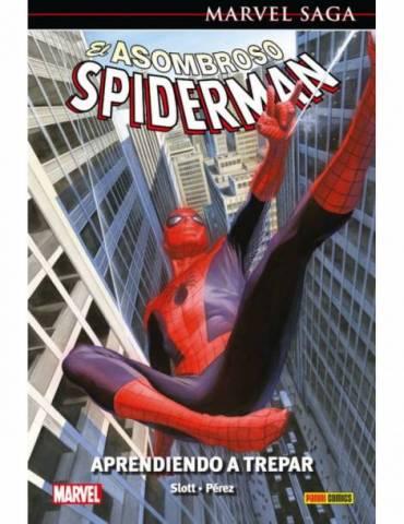 El Asombroso Spiderman 45: Aprende a Trepar (Marvel Saga 103)