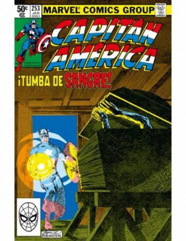Marvel Facsimil 19. Capitan América 253 . ¡Tumba de Sangre!