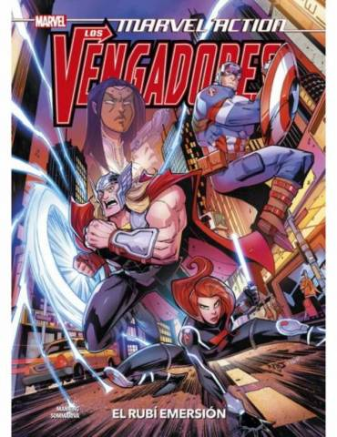 Marvel Action. Los Vengadores 02. El Rubí Emersion