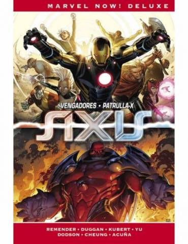 Imposibles Vengadores 03. Axis (Marvel Now! Deluxe)