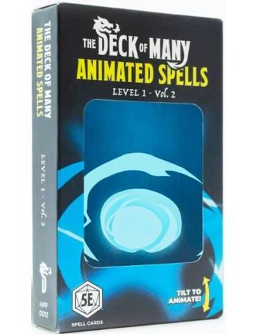 Animated Spells: Level 1...