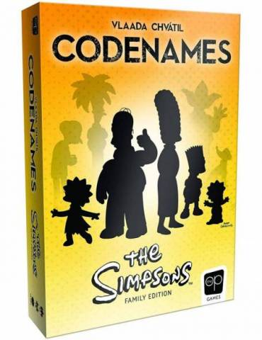 Codenames Simpsons Family...
