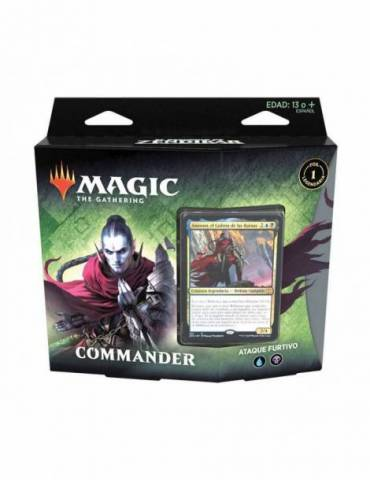 Magic: The Gathering - El Resurgir de Zendikar: Mazo Commander Ataque Furtivo