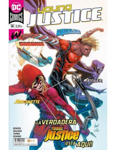 Young Justice núm. 14