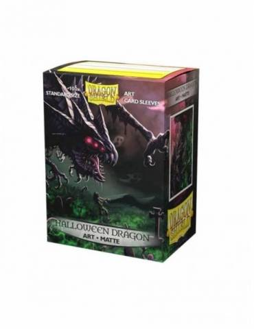 Fundas Standard Art Sleeves Matte Halloween Dragon 2020 Dragon Shield - Paquete De 100
