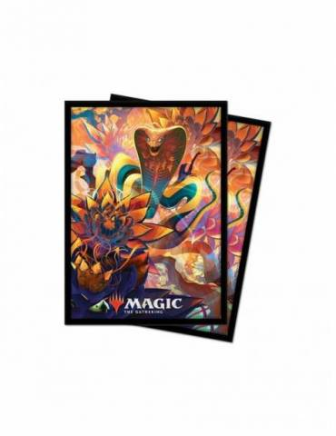 Fundas Ultra Pro V5 Magic The Gathering Zendikar Rising. Tamaño Standard 66x91mm. Ultra Pro. 100 Unidades