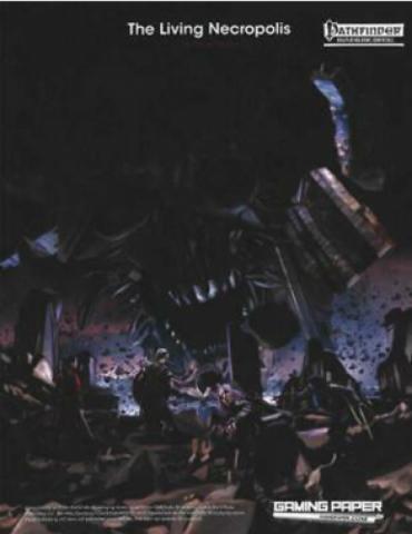 Gaming Paper Adventures: The Living Necropolis