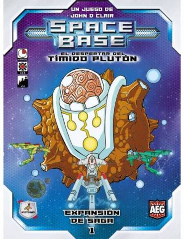 Space Base: Tímido Plutón (Castellano)