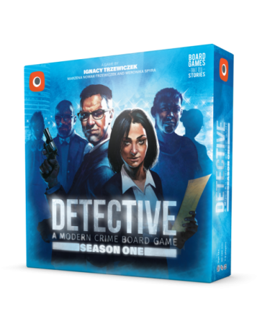 Detective: A Modern Crime Board Game - Season One (Inglés)