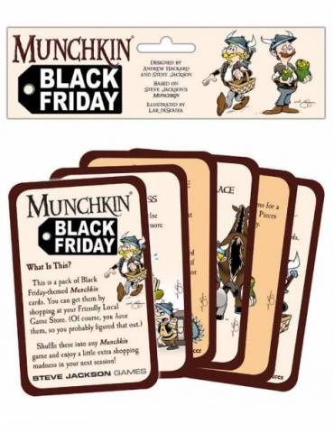 Munchkin: Black Friday Pack (Inglés)
