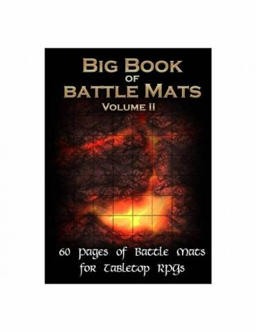 Big Book of Battle Mats 2 (A4 Format)