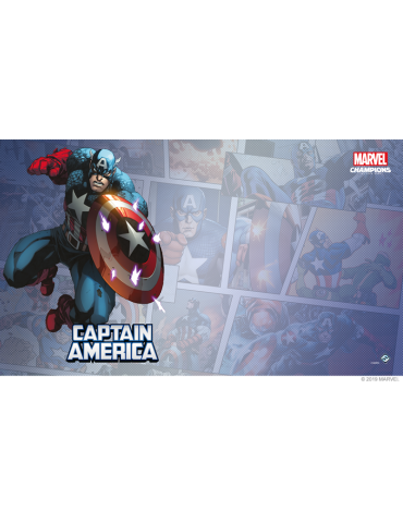Tapete Marvel Champions: Capitán América