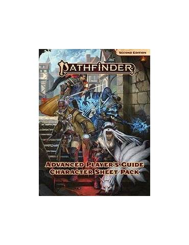 Pathfinder Advanced Player's Guide Character Sheet Pack (Inglés)