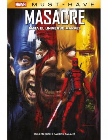 Marvel Must-Have. Masacre Mata el Universo Marvel
