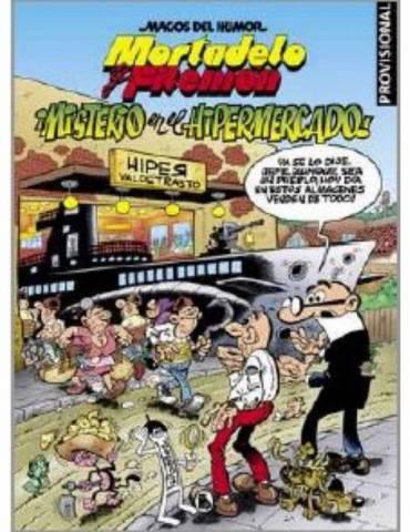 Magos del Humor 205: Misterio en el Hipermercado (Mortadelo y Filemón)