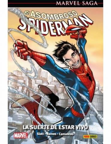 El Asombroso Spiderman 46. La Suerte de Estar Vivo (Marvel Saga 105)