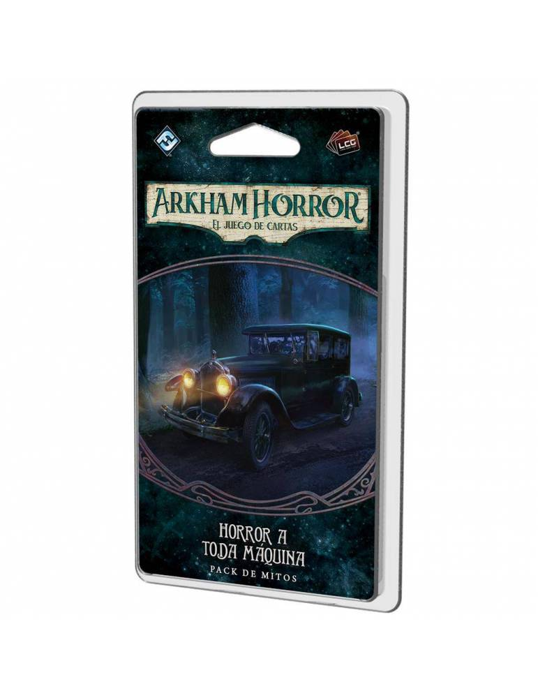 Arkham Horror: El juego de cartas - Horror a toda máquina